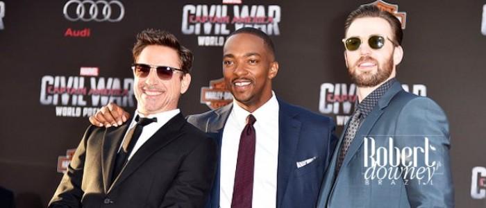 Capitão América: Guerra Civil – Premiere Los Angeles