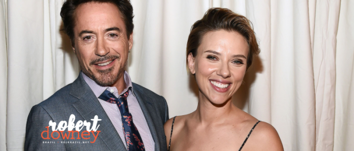 Robert entrega prêmio em homenagem a Scarlett Johansson no 'Power of Woman'