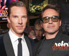 Robert Downey Jr marca presença em Premiere de Doutor Estranho