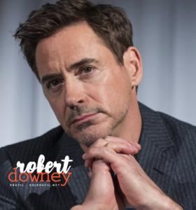 Robert será homenageado em evento de Gala em Los Angeles.