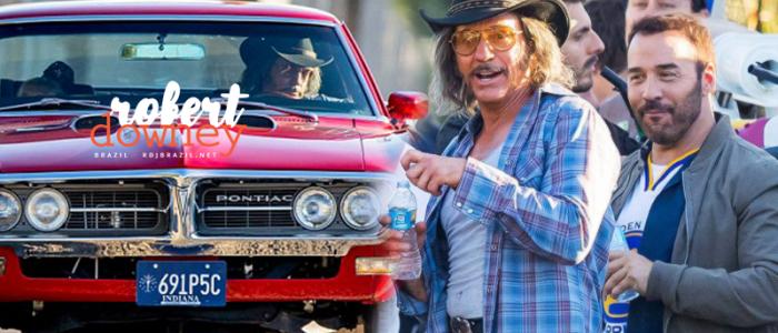 Robert Downey Jr foi visto em Los Angeles gravando cenas para um cameo em All-Star Weekend
