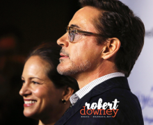 Robert Downey Jr e Susan Downey comparecem ao Wishing Well Winter Gala