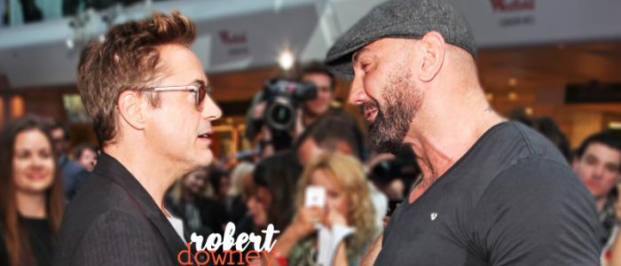 Dave Bautista espera trabalhar com Robert Downey Jr em 'Os Vingadores: Guerra Infinita'