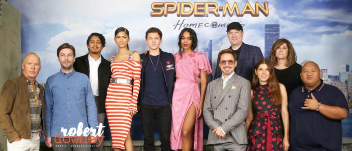 Press Conference de Homem-Aranha: De Volta ao Lar em Nova Iorque