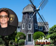 Robert Downey Jr. compra casa histórica em East Hampton e mais uma em Malibu