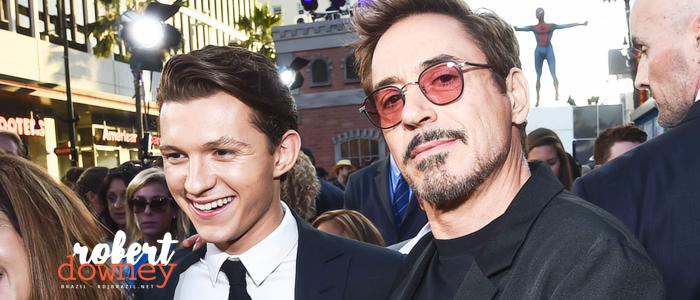 "Robert Downey Jr. elogia Tom Holland: ""Eu soube quando o vi."""