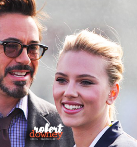 Robert Downey Jr, Chris Evans e Mark Ruffalo são confirmados em evento beneficente promovido por Scarlett Johansson