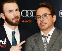 Chris Evans diz que Robert Downey Jr. é insubstituível como Homem de Ferro