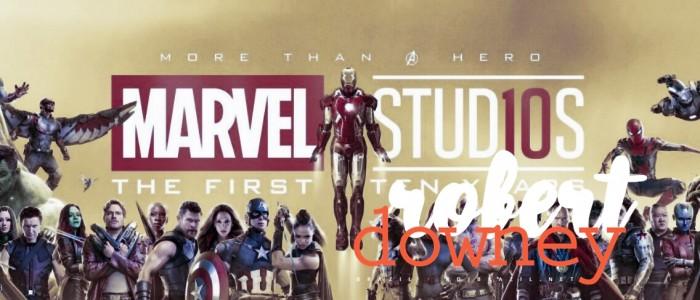 Marvel inicia a celebração dos 10 anos de MCU com vídeo reunindo todo o elenco