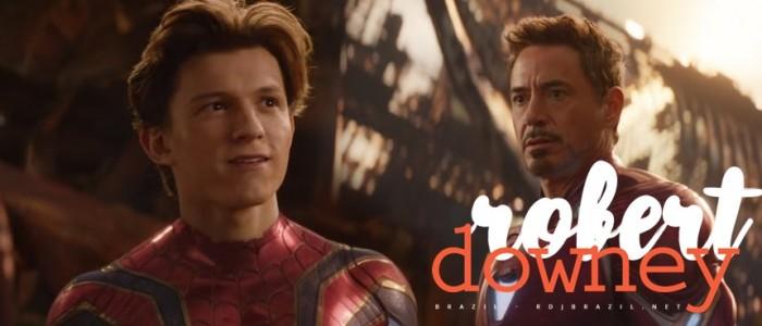 Relação entre Peter Parker e Tony Stark evolui em Guerra Infinita