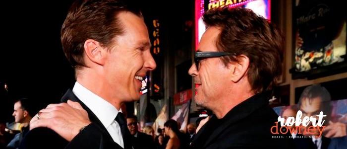 Benedict Cumberbatch fala sobre como foi trabalhar com Robert Downey Jr.