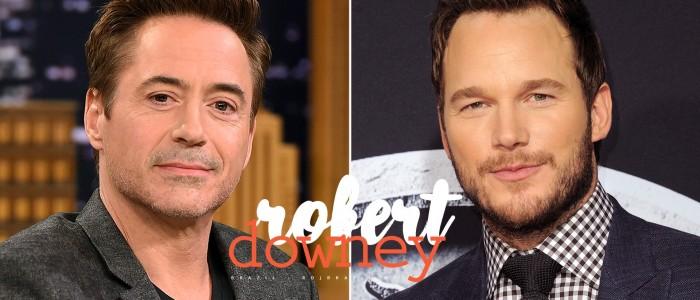 Chris Pratt fala como Robert Downey Jr. lhe deu as boas-vindas ao MCU