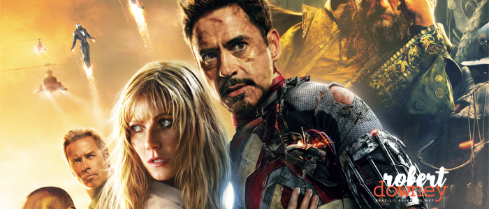 Robert Downey Jr. reescreveu algumas falas enquanto filmava Homem de Ferro 3