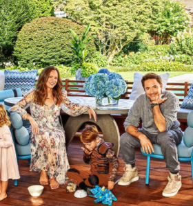 Architectural Digest – Tour pela casa de Robert e Susan Downey em East Hamptons